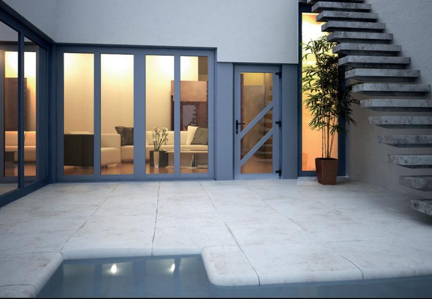 входная дверь для загородного дома в можайске